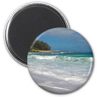 Foamy Surf 2 Inch Round Magnet