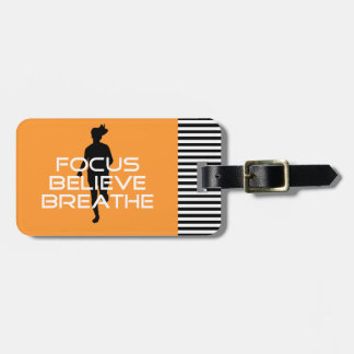 Focu Believe Breathe Bag Tag
