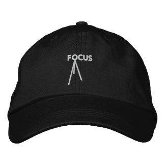 Focus Adjustable Embroidered Hat