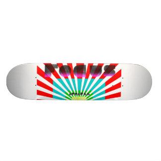 focus apparel three custom skateboard