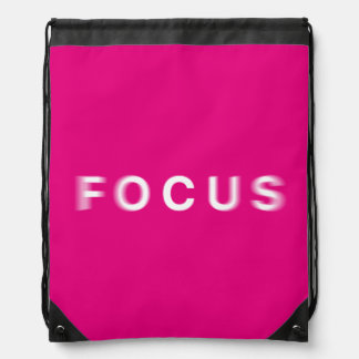 Focus Drawstring Bag