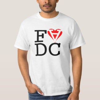 Focus Love Dash Cancel by Seb T-Shirt