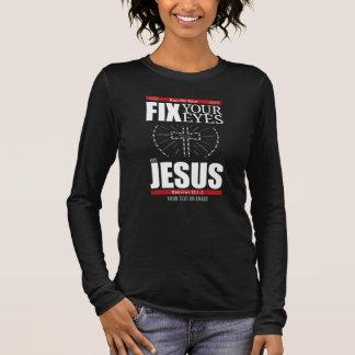 Focus on Jesus Long Sleeve T-Shirt