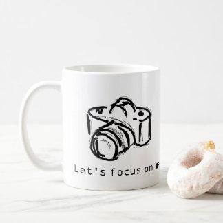 Focus on Me Coffee Mug