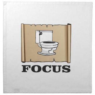 focus on the pot napkin