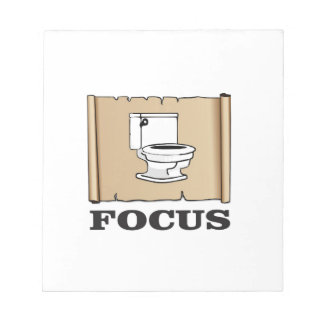 focus on the pot notepad