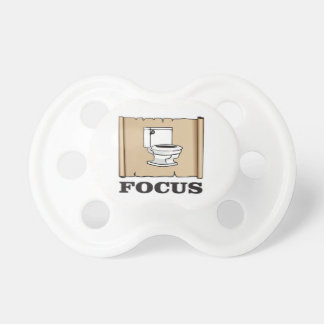 focus on the pot pacifiers