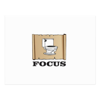 focus on the pot postcard
