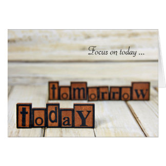 Focus on Today Card