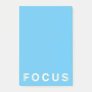 Focus Post-it Notes