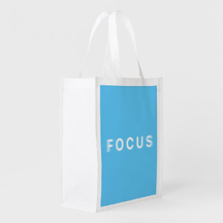 Focus Reusable Grocery Bag