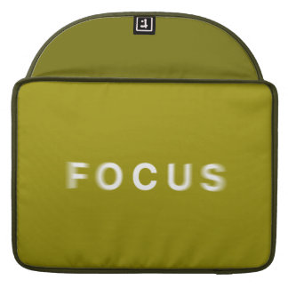 Focus Sleeve For MacBook Pro