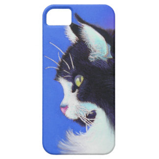 Focus Tuxedo Cat iPhone 5 Case