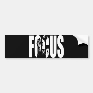 FOCUS - Workout Motivational Bumper Sticker