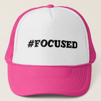 #Focused Hat