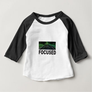 focused on the railroad baby T-Shirt