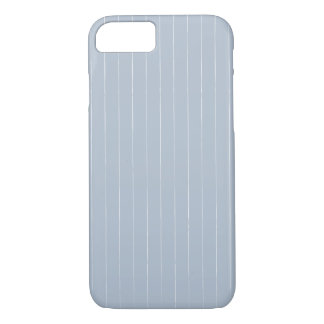 Fog Gray Pinstripes iPhone 8/7 Case