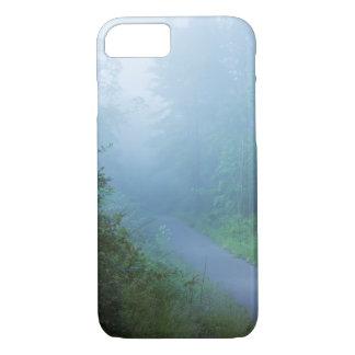 Fog in Blue iPhone 8/7 Case