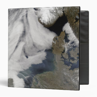 Fog in the North Sea 2 3 Ring Binder