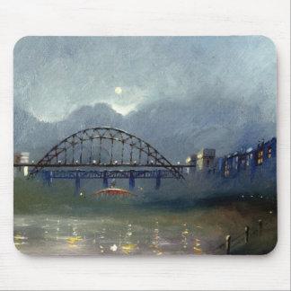 Fog On The Tyne Mouse Pad