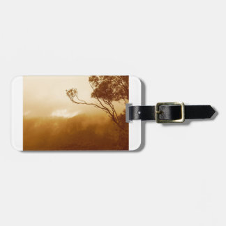 Fog Rolling Over The Blue Mountains Bag Tag