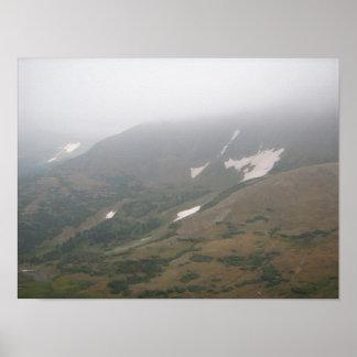 Fog Rolls In Poster