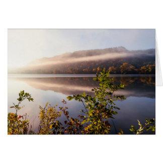 Fog Striped Reflection Card