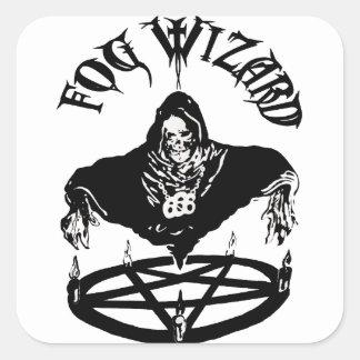 Fog Wizard Evil Sticker