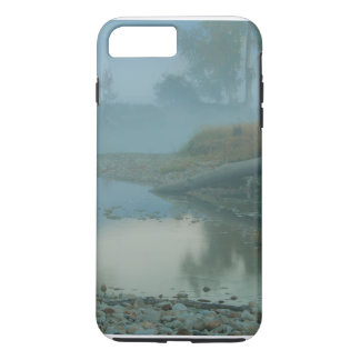 Foggy Bitterroot River Morning Design iPhone 7 Plus Case
