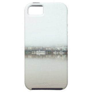 Foggy Day on Portland OR Downtown Waterfront iPhone 5 Covers