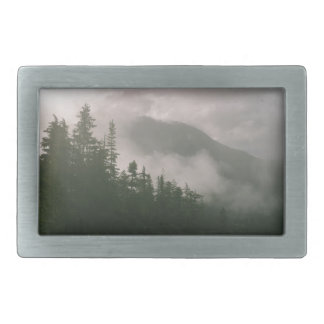 Foggy Forest Belt Buckles