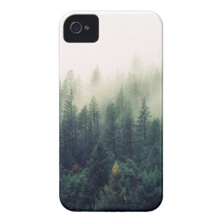 Foggy Forest Nature iPhone 4 Case-Mate Cases