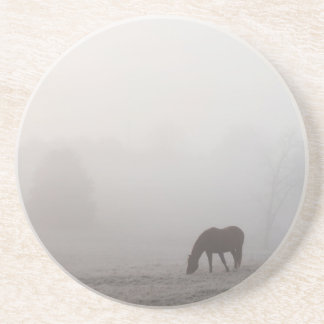 Foggy Grazing Coaster