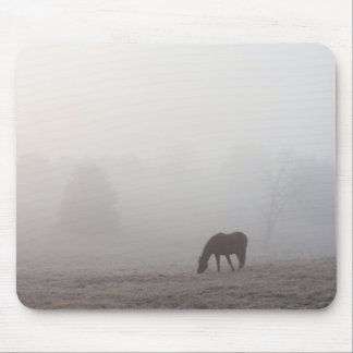Foggy Grazing Mouse Pad