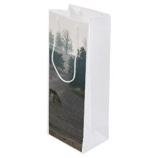 Foggy Grazing Wine Gift Bag