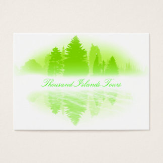 Foggy Lake Business Card