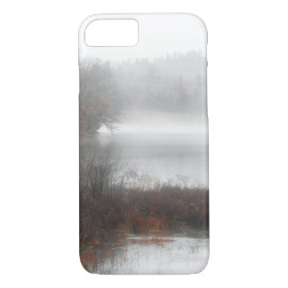 Foggy Lake on a Winter Day Case-Mate iPhone Case