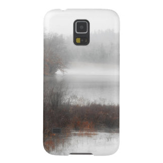Foggy Lake on a Winter Day Galaxy S5 Cover
