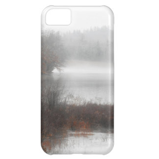 Foggy Lake on a Winter Day iPhone 5C Covers