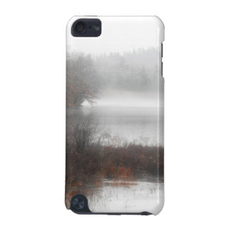 Foggy Lake on a Winter Day iPod Touch 5G Cases