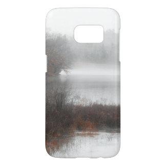 Foggy Lake on a Winter Day Samsung Galaxy S7 Case