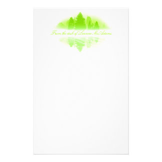 Foggy Lake Stationery