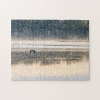 Foggy Morning Flight Jigsaw Puzzle