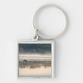 Foggy Morning Flight Keychain