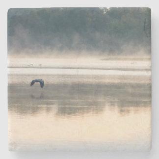 Foggy Morning Flight Stone Coaster