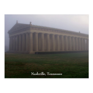 Foggy Morning in Centennial Park Postcard