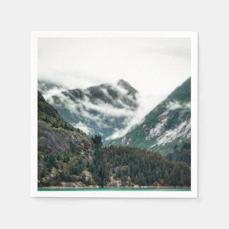 Foggy Mountain Tops Napkin Disposable Napkin