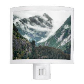 Foggy Mountain Tops Night Light
