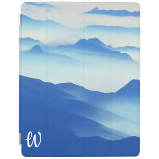 Foggy Mountain Vista iPad Cover