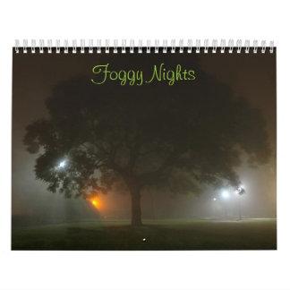 Foggy Nights Calendar